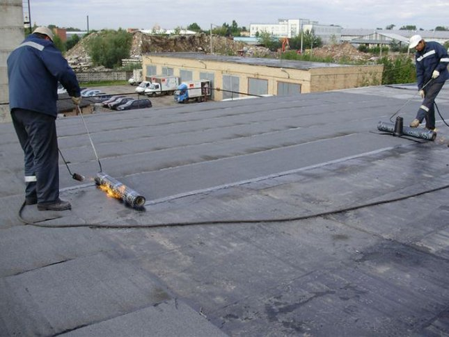 Repair the soft roofs